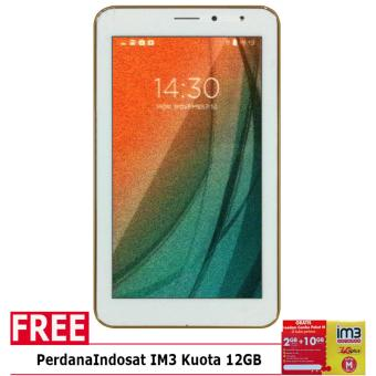 Advan Vandroid I7A 4G LTE – 8GB – Putih + Gratis Perdana IM3 Kuota 12GB