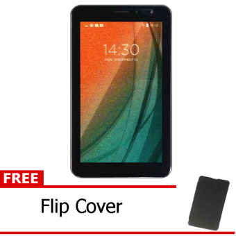 Advan Vandroid i7A 4G LTE – Coffee + Free Flipcover Hitam