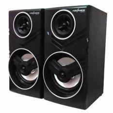 Advance Duo-080 Speaker Komputer USB With Volume Control - Hitam