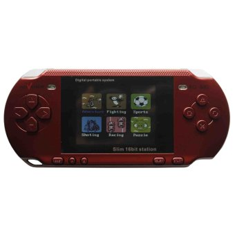 Advance Game Portable SL 16 Bit - Merah