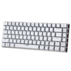 Ajazz AK33 Blue / Black Axis Backlight Mechaincal Gaming Keyboard 82 Keys (WHITE)