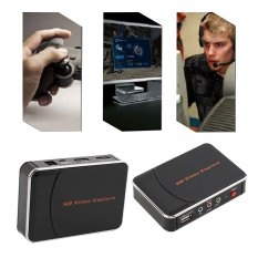 Allwin New HD Game Video Capture 1080P HDMI YPBPR Recorder US Plug For Game Lovers Black