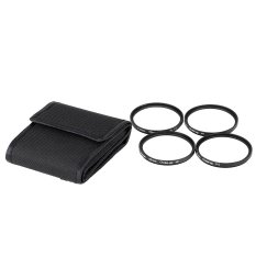 Andoer 55mm Macro Close-Up Filter Set + 1 + 2 + 4 + 10 with Pouch For Nikon Canon Tamron Sigma Sony Alpha A200 A450 A300 DSLRs (Intl)