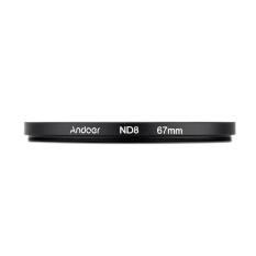 Andoer 67mm UV + CPL + ND8 Circular Filter Kit Circular Polarizer Filter ND8 Neutral Density Filter with Bag For Nikon Canon Pentax Sony DSLR Camera (Intl)
