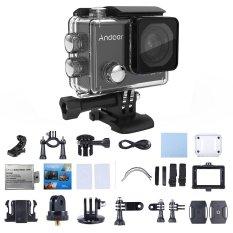 Andoer C5 Pro 4K/30fps Action Camera 1080P/120fps 720P/240fps Full HD Adopt for Ambarella A12S75 16MP WiFi Waterproof Diving 30m 2.0