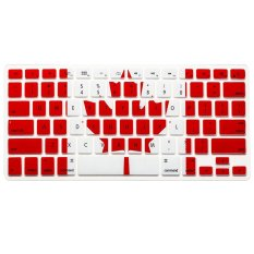 "AOXINDA Canada Flag Silicone Keyboard Cover Keyboard Skin Protector For All Apple MacBook Pro 13.15.17"" Aluminum Unibody"