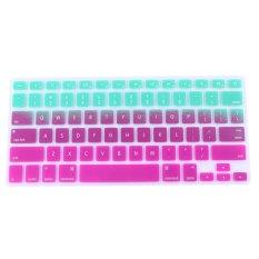 "AOXINDA Gradient Series Silicone Keyboard Cover Keyboard Skin For All Macbook 11""Air / Macbook 12"" / Macbook Pro Aluminum Unibody 13.3"" 15.4.17"""