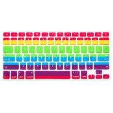 "AOXINDA Gradient Series Silicone Keyboard Cover Keyboard Skin For All Macbook 11""Air / Macbook 12"" / Macbook Pro Aluminum Unibody 13.3"" 15.4.17"" - Intl"