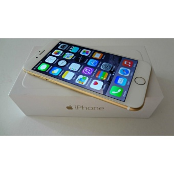 Apple iPhone 6 Gold 64GB RAM 1GB Camera 8MP GARANSI