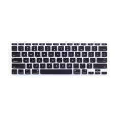 Apple Mac-book Air / Mac-book Pro JH Silicone Keyboard Cover Skin 11.6 Inch Hollow (Black) (Intl)