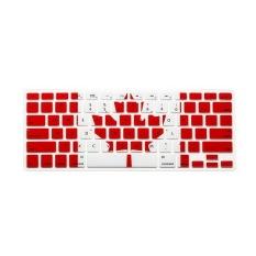 Apple Mac-book Air / Mac-book Pro JH Silicone Keyboard Cover Skin 12 Inch (Canadian Flag) (Intl)