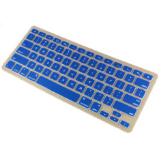 Apple Mac-book Air / Mac-book Pro JH Silicone Keyboard Cover Skin 13 Inch (Deep Blue) (Intl)