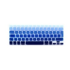 Apple Mac-book Air / Mac-book Pro Keyboard Protector 13.3 Inch (European Version Of The English Gradient Blue) (Intl)