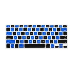 Apple Mac-book Air / Mac-book Pro Keyboard Protector 17 Inch (Mosaic Black Blue) (Intl)