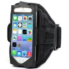 Armband Mesh Cloth Material Sports Armband Case For IPhone 5/5s - ZE-AD105 - Black