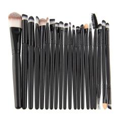 Aukey 20pcs Make Up Eyeshadow Eyebrow Brushes Set Kit