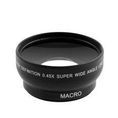 Aukey 52mm Fisheye 0.45x Wide Angle Lens Professional MACRO