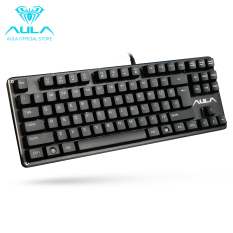 AULA OFFICIAL F2012 Mechanical Gaming Keyboard USB Wired Keyboard (Black)