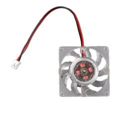 AZONE Mini 12V Computer Cooling Fan Video Card Heatsink Cooler (White)