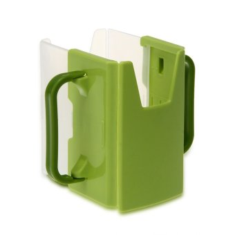 Baby Child Multifunctional Juice Pouch Milk Box Water Bottle Cup Holder Green IN