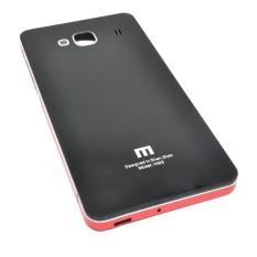 Back Door Glass Hardcase Xiaomi Redmi 2 - Black Red