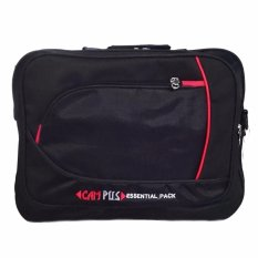 Bag u0026amp Stuff Campus 3 in 1 Laptop Bag Hitam