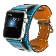 ... 38 Mm Source · Band for Apple Watch Series 1 Series 2 Genuine Leather Smart Watch Band Cuff Strap