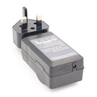 Battery Charger For SONY DSC-W31.12.1MP DSC-W320 DSC-W330 DSC-W350 DSC-W380 Digital Camera AC + DC Wall + Car
