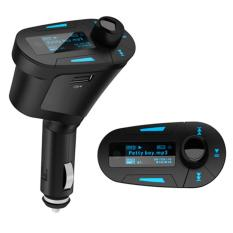 Best Mp3 Car Kit MP3 Player FM Transmitter Modulator With USB And SD Card Slot (Black)