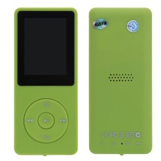 Bigskyie 8GB Mini Slim Digital MP3 MP4 Player LCD Screen FM Radio Video Games Movie Green Free Shipping