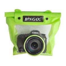 Bingo Waterproof Bag For Camera SLR with Lens Design Diamater 8.5cm Lens Length 8cm - WP058 - WP059 - Green