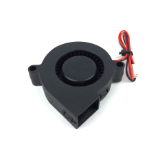 Black 12V DC 0.01.3D Printer Blowing Fan For Cooling Heatsinks and Prints