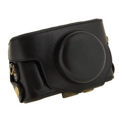 Black Camera Case Bag Leather Case Cover For Digital Camera PentaxMX1