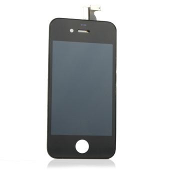 Black Touch Screen Digitizer LCD Display Assembly Fit For IPhone 4 4G