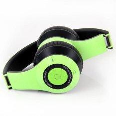 Bluedio B2 Foldable Bluetooth Wireless Headset (Green) (Intl)
