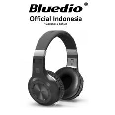 Bluedio H+ Turbine Headphone with Bluetooth 4.1 - Hitam