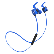 Bluedio TE Bluetooth 4.1 Wireless Sports Headphones Sweatproof Microphone (Blue)