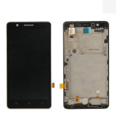 Bluesky For Lenovo A536 Black Touch Screen Panel Digitizer Sensor Lens Glass + LCD Display Screen Panel Monitor Moudlel - Intl