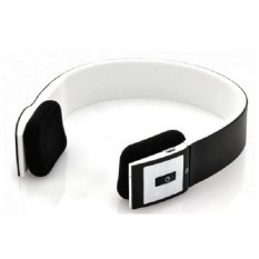 Bluetooth Headset Headphone MP3 Music Android Iphone - Earphone BTH-401 - Hitam