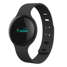 Bluetooth Smart gelang H8 Smartband Inteligente pelacak kebugaran untuk band Xiaomi Samsung Apple iPhone jam pintar Hitam