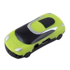 BUYINCOINS Mini Car Style USB Digital MP3 (Green)