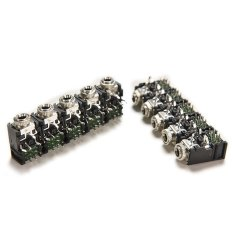 Buytra 10Pcs Female Audio Connector DIP Stereo Headphone Jack