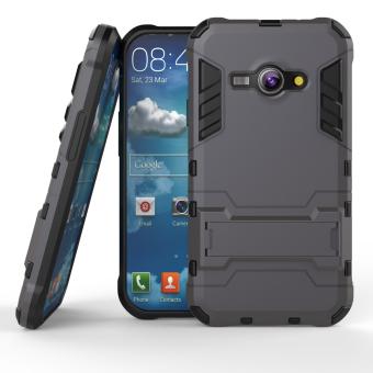 BYT TPU+PC Hybrid Phone Case for Samsung Galaxy J1 Ace 2015 (Black)