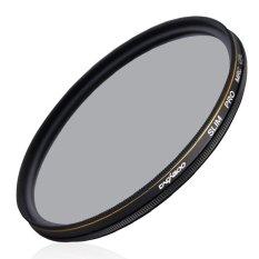 CACAGOO 52mm CPL Circular Polarizer Filter Photography Multi-coated Optical Glass Lens Filter For Canon Nikon Sony Pentax DSLR
