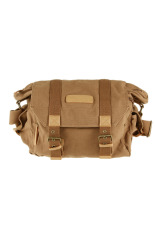 Caden F1 Waterproof & Portable Canvas DSLR Camera Shoulder Bag For Canon Nikon Sony Olympus Pentax-Khaki