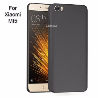 Calandiva 360 Degree Protection Slim Hardcase for Xiaomi MI 5 / Mi 5 Pro - Hitam