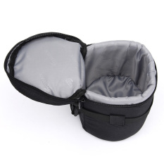 Camera Lens Protector Padded Carry Pouch Insert Bag Cover 10.5x16cmFor DSLR SLR