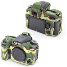 Camouflage Nice Soft Silicone Rubber Cover Silicone Protective Skin- Camera Cover For Nikon D750 Camera (Intl)