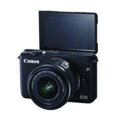 Canon EOS M10 EF-M 15 45mm IS STM -18MP - Hitam