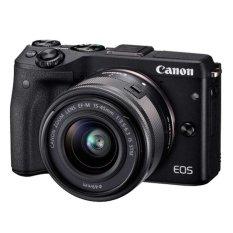 Canon EOS M3 - 24.2MP - Kit 15-45mm - Hitam